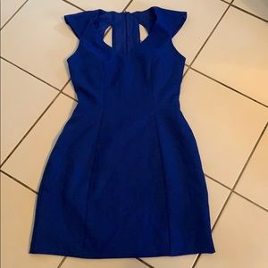 Beautiful blue dress. Fully lined